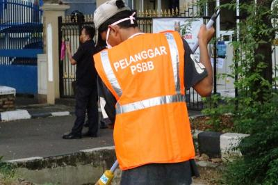 Pelanggaran PSBB DKI, Jumlah Warga Tak Gunakan Masker Meningkat