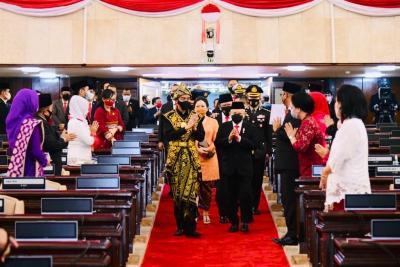 Pidato Kenegaraan, Jokowi Bicara Kursi yang Tak Terisi Akibat Corona
