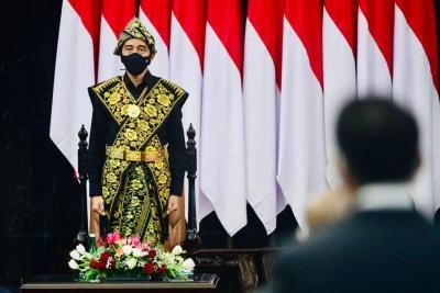 Pidato Jokowi, Apresiasi Gerak Cepat DPR Sahkan Perppu Corona Jadi UU