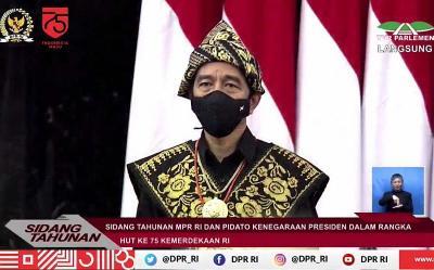 Sidang Tahunan 2020, Jokowi: Pemerintah Tak Main-Main Berantas Korupsi!