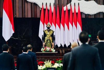 Pidato Tahunan, Jokowi: Jangan Merasa Paling Benar, Agamis dan Pancasilais!