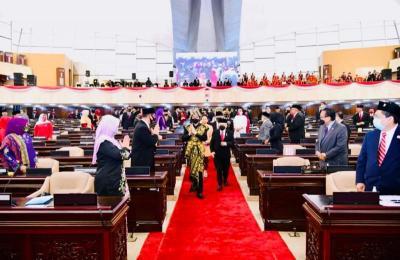 Pidato Kenegaraan, Jokowi Bicara Kecanggihan Garapan Food Estate