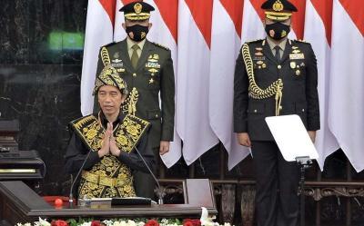 Pidato Kenegaraan, Jokowi Apresiasi MK yang Mampu Pangkas Waktu Penuntasan Perkara