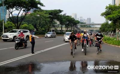 Marak Pelanggaran Protokol Kesehatan, 32 Kawasan Khusus Pesepeda Ditiadakan