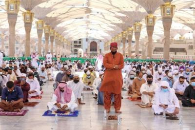 Masjid Nabawi Gelar Sholat Jumat Terakhir Tahun 1441H
