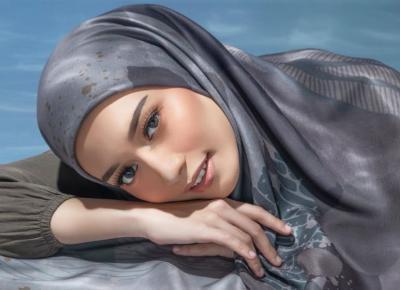 Nih Cocok Buat Kamu, 4 Look Hijab ke Pantai ala Mega Iskanti