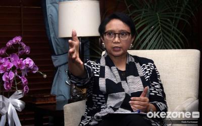 Menlu RI Tegaskan Indonesia Tak Akan Jadi Pangkalan Militer China