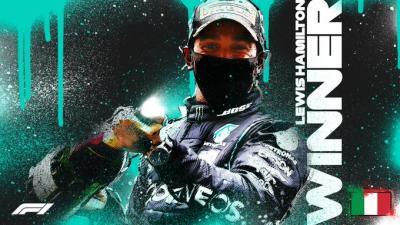 Hasil Balapan F1 GP Tuscan 2020: 2 Kali Red Flag, Hamilton Tampil sebagai Pemenang