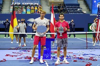 Dominic Thiem Juarai AS Terbuka 2020, Alexander Zverev Ucapkan Selamat
