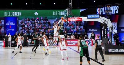 Miami Heat Kalahkan Boston Celtics di Gim Pertama Final Wilayah Timur