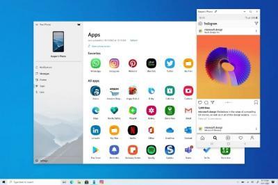 Microsoft Buat Fitur Mirroring Ponsel Android di Windows 10
