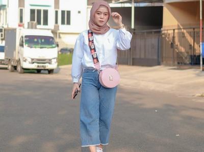 OOTD Simpel dan Fashionable Lesty Kejora, Manis Banget!