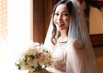 Melihat Kembali Gaun Pernikahan Chef Marinka, Sleeveless Wedding Gown