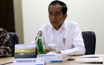 Presiden Jokowi Ajak Masyarakat Ikhtiar Lahir Batin Hadapi Covid-19