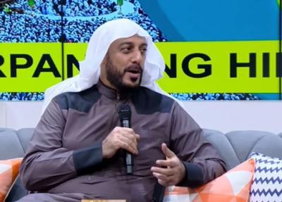 Cerita Syekh Ali Jaber Mimpi Bertemu Penusuknya Usai Kejadian