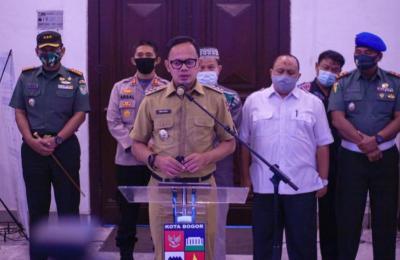 Cegah Kerumunan, Fasilitas Publik Lingkar Kebun Raya dan Istana Bogor Ditutup