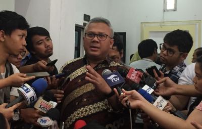 Positif Covid-19, Ketua KPU Tetap Laksanakan Tugas dari Rumah