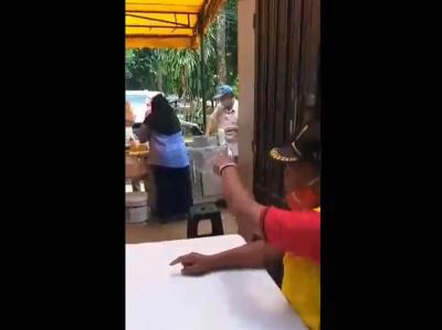 Viral Oknum 'Petugas' Ngotot Ingin Makan di Tempat saat PSBB