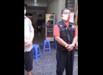 Ngotot Ingin Makan di Tempat saat PSBB, Oknum Anggota FKDM Ini Langsung Dipecat