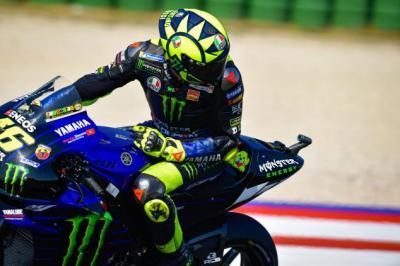 Gagal Tembus 10 Besar di FP1 dan FP2, Rossi: Ini Hari Pertama yang Sulit