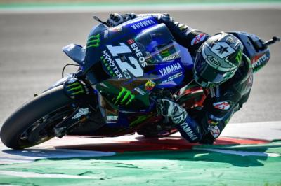 Vinales Ungkap Masalah YZR-M1 pada Hari Pertama MotoGP Emilia Romagna 2020