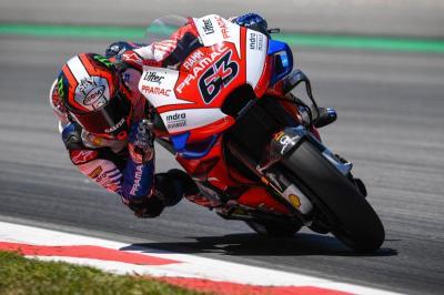 Hasil Sesi Latihan Bebas Ketiga MotoGP Emilia Romagna 2020, Bagnaia Tercepat
