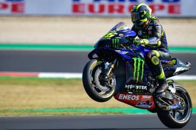 Kurang Puas Start Ke-7, Valentino Rossi Tetap Optimis di MotoGP Emilia Romagna