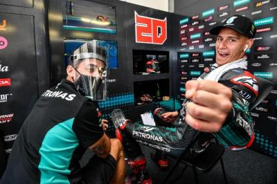 Jelang Tampil di MotoGP Emilia Romagna, Ini Harapan Quartararo