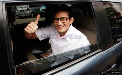 Sandiaga Uno Masuk Tim Pemenangan Menantu Jokowi di Pilkada Medan, Ini Penjelasan Gerindra