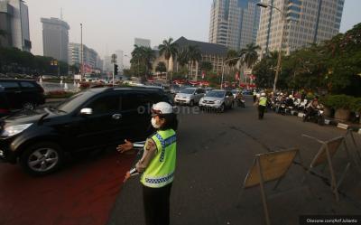 Volume Kendaraan di Jalanan Jakarta Turun hingga 20 Persen Selama PSBB
