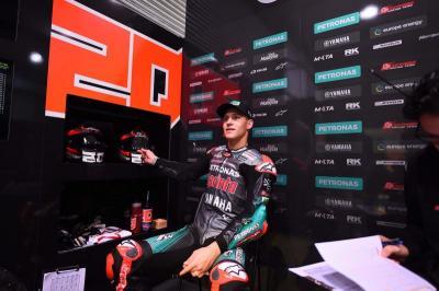 Usai MotoGP Emilia Romagna 2020, Quartararo Ngaku Frustrasi karena Penalti
