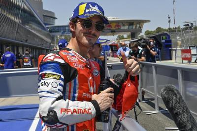 Bagnaia Nyaris Menang di MotoGP Emilia Romagna, Dovizioso: Dia Terbaik di Ducati!