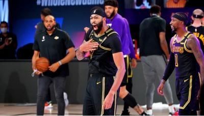 Jadi Pahlawan LA Lakers, Pelatih: Anthony Davis Lakukan Mamba Shot