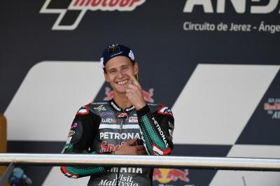 Quartararo Pasrah dengan Peluangnya di MotoGP Catalunya 2020