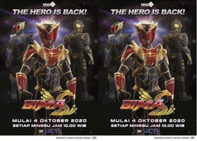 Berformat Animasi, BIMA S Siap Tayang Perdana pada 4 Oktober