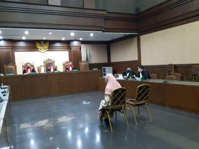 Pinangki Sangkal Dakwaan Jaksa soal Uang USD500 Ribu