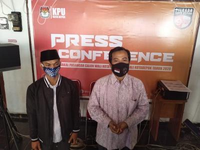 Mohammad Idris-Imam Budi Hartono dan Pradi Supriatna-Afifah Alia Resmi Maju Pilkada Depok 2020