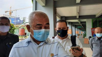 Belasan Pasien OTG Covid-19 Jalani Isolasi di Stadion Patriot Bekasi