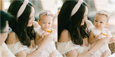 Gemasnya Shandy Aulia Kenalkan Lemon ke Baby Claire, Apa Manfaatnya?