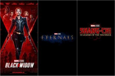 Marvel Ubah Tanggal Rilis Black Widow, Shang-Chi, dan Eternals