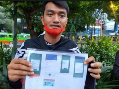 """Heboh Aplikasi """"Pengganda Uang"""", Puluhan Driver Ojol di Kota Bogor Kena Tipu"""