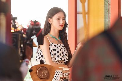 Miyeon  G I-DLE Dapat Peran Utama dalam Web Drama Replay