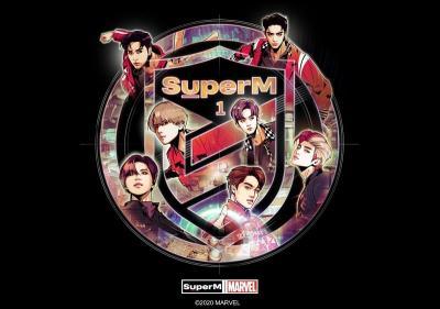 SuperM Kolaborasi dengan Marvel