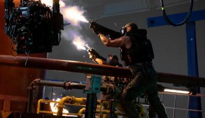 Bocoran Foto Syuting Avatar 2 Perlihatkan Aksi Baku Tembak