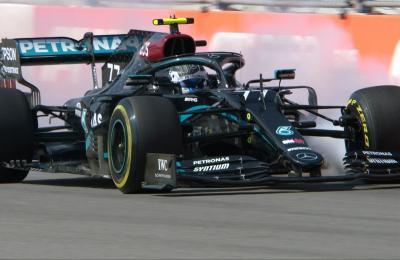 Hasil Latihan Bebas 1 F1 GP Rusia 2020, Bottas Terdepan Diikuti Ricciardo