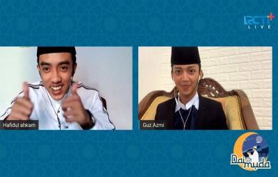 Hafidul Ahkam dan Guz Azmi Bahas soal Jodoh di Dai Muda RCTI