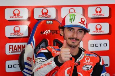 Ducati Siap Jadikan Bagnaia sebagai Suksesor Dovizioso