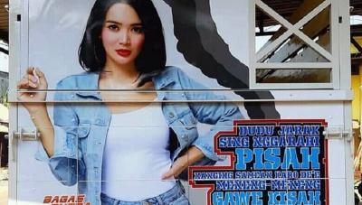 6 Potret Wajah Cantik Wika Salim Hiasi Truk, Netizen: Idola para Supir!