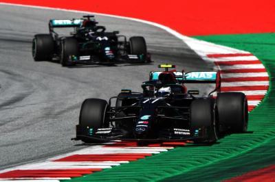 Hasil Balapan F1 GP Rusia 2020, Bottas Rebut Podium Juara