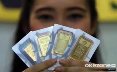 Awal Pekan, Harga Emas Stagnan di Rp1.006.000 Gram